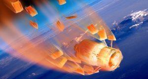 تولید زباله های فضایی
