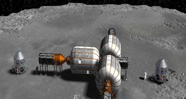 سکونتگاه مداری ماه به زودی به دور قمر زمین خواهد چرخید