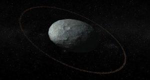 شواهد نشان میدهند که سیاره کوتوله هائومیا حلقهای زیبا و کوچک به دور خود دارد!