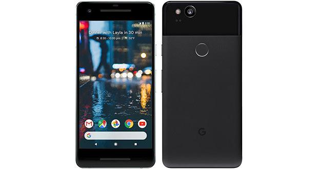 مشخصات گوگل پیکسل 2
