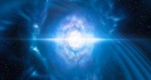 موج های گرانشی برخورد دو ستاره نوترونی غولآسا را آشکار کردند + ویدیو
