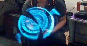 ساخت هولوگرام سه بعدی شناور با گجتی شگفتانگیز از کشور چین + ویدیو