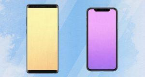 ترجیح میدهید طراحی گلکسی نوت 9 مشابه نوت 8 باشد یا آیفون 10 ؟ (نظرسنجی)