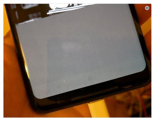 سوختن نمایشگر گوگل پیکسل 2 ایکس ال