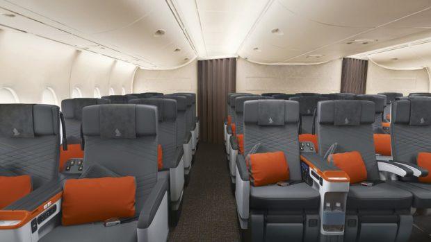 هواپیمایی سنگاپور تصاویری خیرهکننده را از فضای داخلی جدید هواپیماهای ایرباس ای 380 خود منتشر کرد