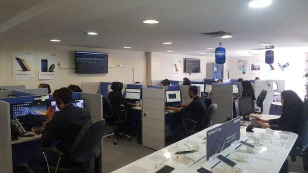 مراکز خدمات موبایل سامسونگ