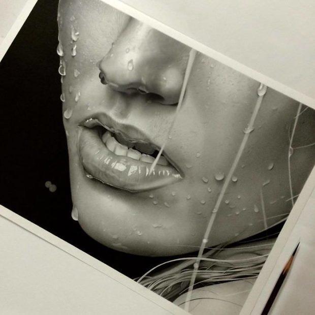 اوج هنر، مهارت و خلاقیت در آثار نقاشی با مداد یک هنرمند ژاپنی