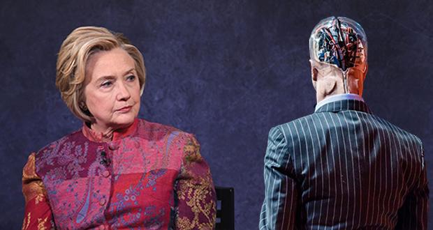 صحبت های هیلاری کلینتون در مورد هوش