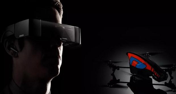 پهپاد هولوگرامی اپسون؛ شبیه سازی پرواز با واقعیت افزوده + ویدیو