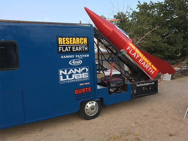 راکت آماتوری زمین تخت گرایان