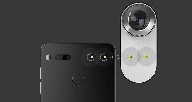 اپلیکیشن دوربین اسنشال فون