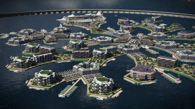 اولین شهر شناور جهان