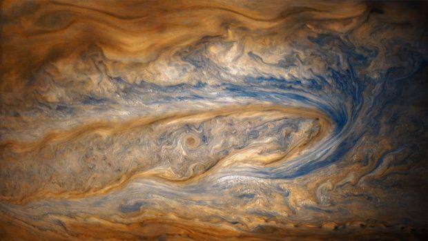 تصاویر زیبای سیاره مشتری