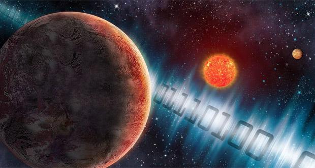 اولین پیام انسان به موجودات فضایی