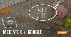 همکاری مدیاتک و گوگل