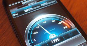 سرعت اینترنت موبایل