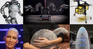 بهترین، بدترین و عجیب ترین ربات های سال 2017