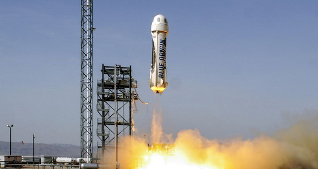 نسخه جدید موشک نیو شپرد شرکت بلو اوریجین با موفقیت پرتاب و به سلامت به زمین نشست