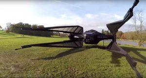 ساخت جنگنده جنگ ستارگان در ابعاد واقعی را در این ویدیو ببینید