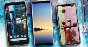 با گوشی های سال 2018 آشنا شوید