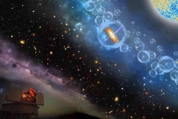 دورترین سیاه چاله کلان جرم کشفشده رازهای پیدایش جهان را آشکار میکند