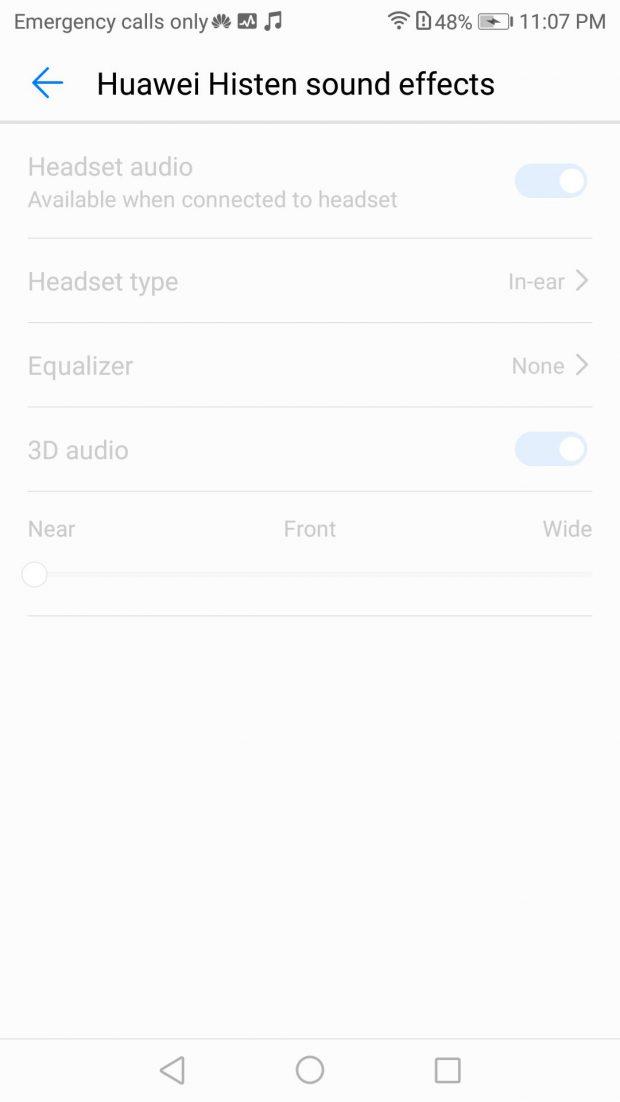 امکانات صوتی و بررسی کیفیت صدای تماس در هواوی میت 10