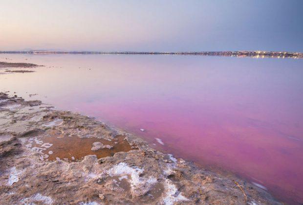 دریاچه Las Salinas de Torrevieja، اسپانیا