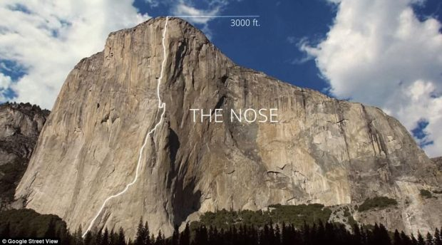 the Nose Yosemite