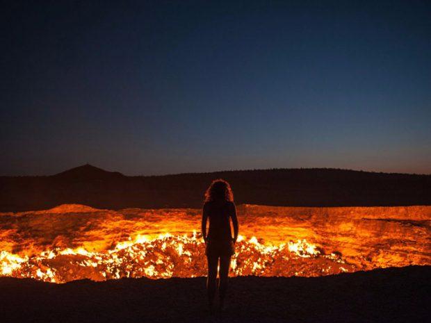 دروازه جهنم، ترکمنستان