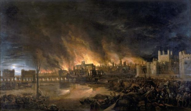 آتش سوزی بزرگ لندن