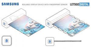 سامسونگ پتنت صفحه نمایش رول شونده خود را به ثبت رساند