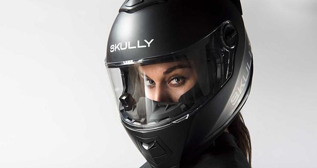 کلاه کاسکت واقعیت افزوده Fenix AR توسط کمپانی Skully معرفی شد