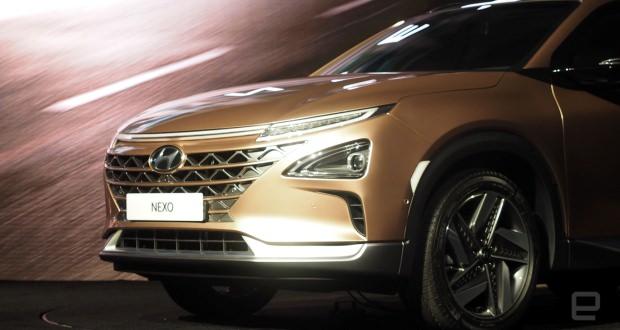 خودرو پیل سوختی هیوندای