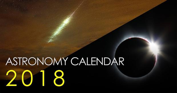 تقویم نجومی سال 2018