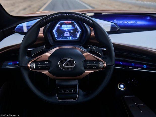 خودرو مفهومی لکسوس LF-1 Limitless