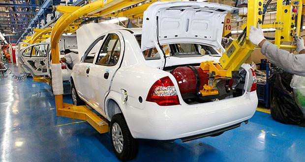 رکورد تولید خودرو در سایپا