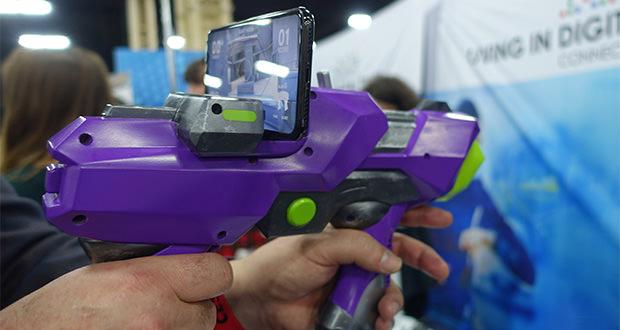 تفنگ اسباب بازی Merge Labs