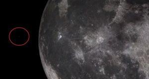 ویدیو پرواز یوفو بر روی ماه ؛اثبات وجود فرازمینی ها یا حقهای کامپیوتری؟!
