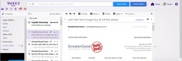 یاهو میل سنتی- مقایسه دو سرویس ایمیل یاهو و جیمیل