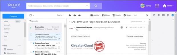 یاهو میل جدید - مقایسه دو سرویس ایمیل یاهو و جیمیل