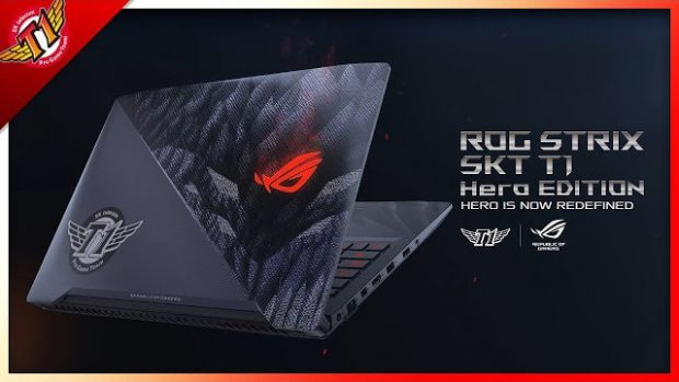 لپ تاپ ایسوس ROG Strix SKT T1 Hero Edition