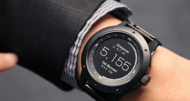 ساعت هوشمند بدون باتری ماتریکس