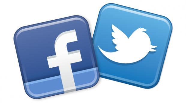 فیس بوک و توییتر