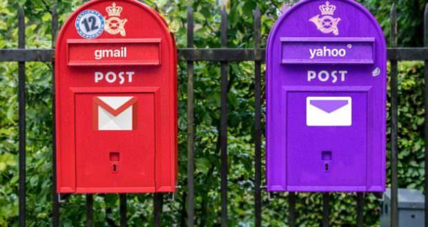 مقایسه دو سرویس ایمیل جیمیل و یاهو