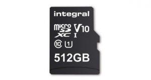کارت میکرو اس دی 512 گیگابایتی اینتگرال