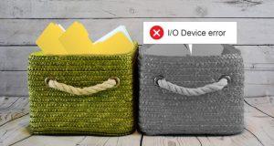 مشکل I/O device error