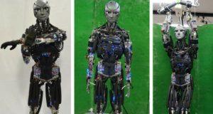 ربات انسان نمای ورزشکار