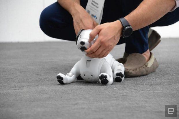 ربات سگ سونی Aibo