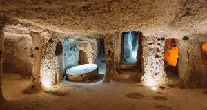 شهر زیرزمینی باستانی