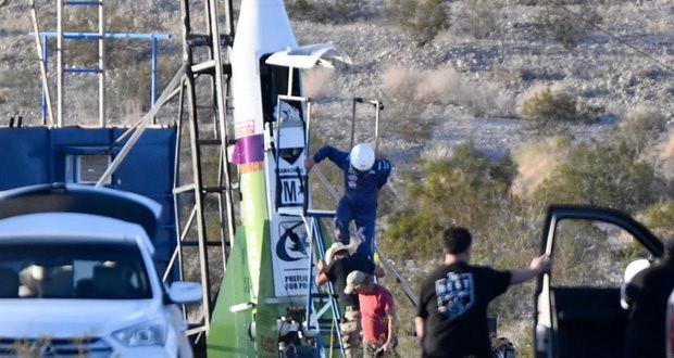 تلاش برای پرتاب راکت زمین تخت گرایان باز هم شکست خورد + ویدیو